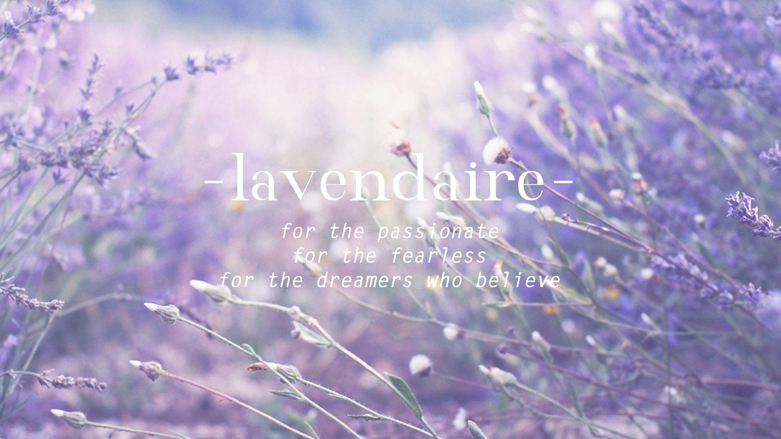Welcome to Lavendaire