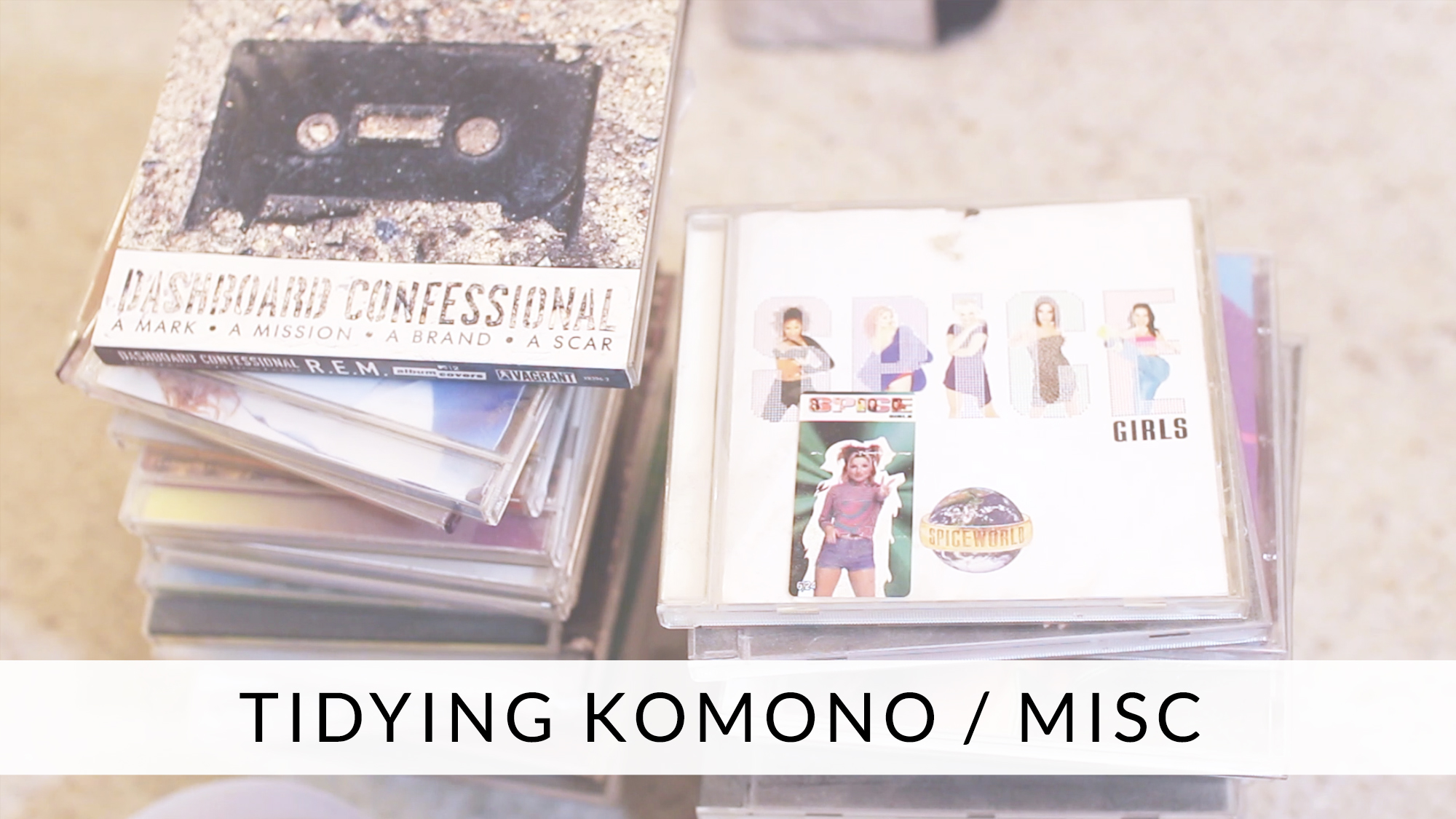 Tidying with KonMari: Komono / Misc