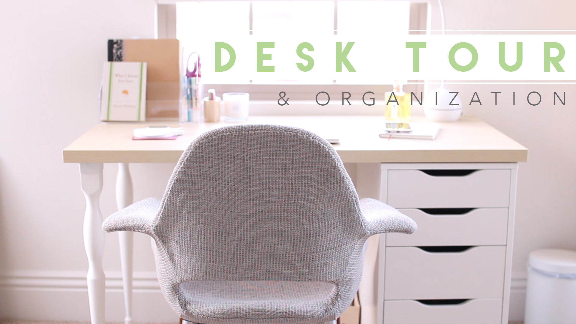 Desk Tour Lavendaire