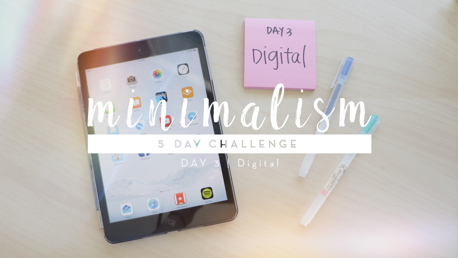 5 Days to Minimalism Challenge | Day 3