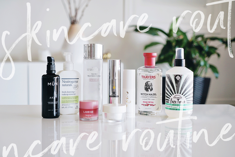 My 9 Step Skincare Routine