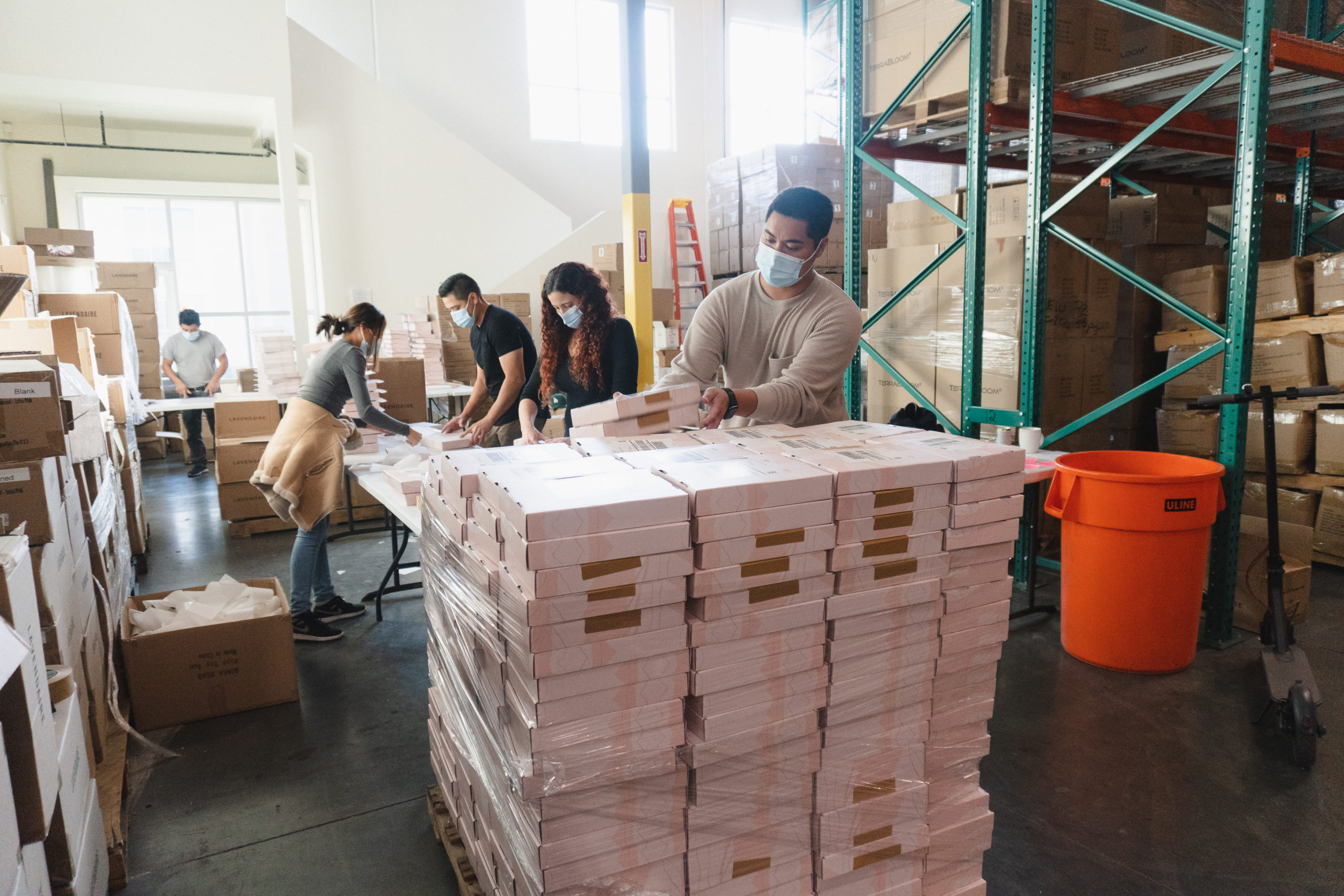 Behind the scenes: Shipping the 2021 Artist of Life Workbooks